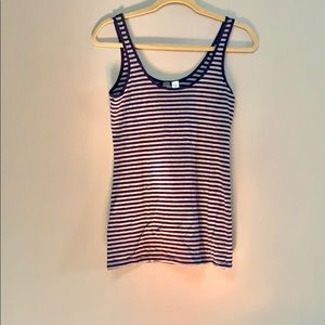 Navy Striped Tank - Nordstrom BP, Size L